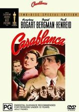 Casablanca (DVD, 2003, 2-Disc Set) Region 4 Used Like NEW with Free Postage