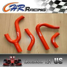 silicone radiator hose for KTM 250/300/380 SX/EXC/MXC 1998-2003 1999 2000 2001