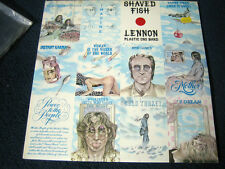 JOHN LENNON - Shaved Fish LP - UK Apple 1st Press - M- with Inner Sleeve