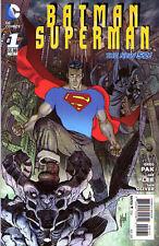 BATMAN SUPERMAN #1 New 52 Superman VARIANT Cover 1:25