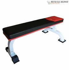New Flat Weight Lifting Bench Press Sit Up Exercise Workout Training Home Gym
