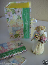 """GNOMY'S DIARIES The Angels of Love by ANNEKABOUKE """"Get Well Soon"""" Figurine"""