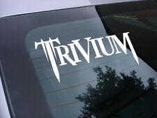 Trivium rock music band decal sticker