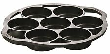Lodge L7B3 Cast Iron Drop Biscuit Pan, Pre-Seasoned - FREE SHIPPING!!! - NEW -