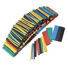 NEW 280PCS 5 Colors 8 Sizes Assorted 2:1 Heat Shrink Tubing Wrap Sleeve Kit - LD