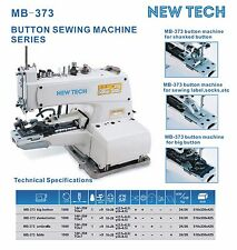 New-Tech Mb-373 Chainstitch Button Attaching Machine with,Trimmer (Complete Set)