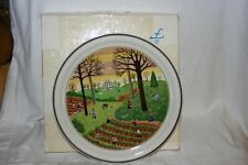 MIB Villeroy & Boch Naif No. 3 Fall Autumn Plate Gerard Laplau Four Seasons