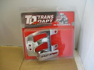 Trans-Dapt 9756 Throttle Cable Bracket Set SB Chevy Chrome