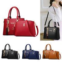 Women Lady Leather Shoulder Bag Tote Purse Handbags Messenger Cross Body Satchel
