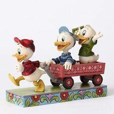 Disney Traditions Jim Shore Huey Louie Dewy Nephews figurine  #4054283