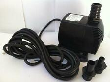 12 volt Pond Pump Battery or Solar panel powered