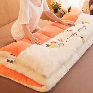 New Thick Lamb Velvet Mattress Soft Cushion Tatami Student Single Sponge Cushion