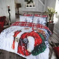 Beautiful Range of Christmas Xmas Duvet cove Quilt Bedding Set Christmas Duvets