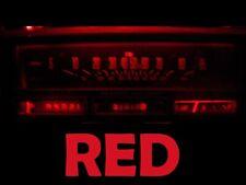 78 88 Oldsmobile Olds Cutlass Gauge Cluster LED Dashboard Bulbs Red