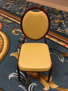 Lot of 3 - Used Banquet Chairs/Ballroom Chairs Shelby Williams (200 Available)