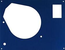 Deckplatte face plate für Thorens TD... für SME Tonarm in blau metallic