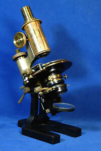 Zeiss Microscope IPh 26848 Antique