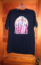 Navy Blue T Shirt with Go To Hell World I'm a Senior Iron On Size L-XL
