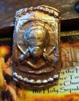 St.Veronica's Veil Clay Seal Reliquary Holy Fire relic Tomb of Jesus