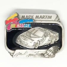 Belt Buckle NASCAR Mark Martin Race Car