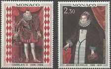 Timbres Arts Tableaux Personnages Monaco 770/1 ** lot 28214