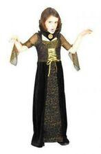 COUNTESS BLOODTHIRST SMALL AGE 4-5, HALLOWEEN VAMPIRE GIRLS FANCY DRESS COSTUME