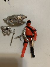 GI Joe Cobra Mortal  Timber Mirrored  Chrome Ooop Mint Lot