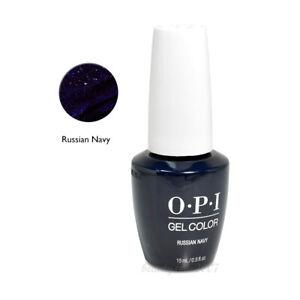 OPI Soak Off Gel Nail Polish GC R54 Russian Navy 0.5oz
