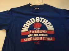 Vintage 1988 Portland Oregon  Nordstrom Run Shirt Size Medium