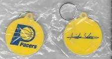 INDIANA PACERS NBA BASKETBALL CLUB OFFICIAL OLD SOFT KEYCHAIN BRAND NEW SEALED