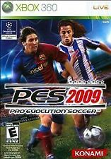 NEW - PES Pro Evolutuin Soccer 2009 - XBOX 360 Game