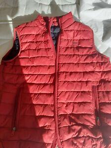 Armani Jean's Men's red gillet M