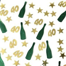 40th Birthday Table Scatter | 40th Party Table Confetti Decor - UK SELLER