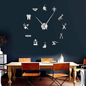 Special Wall Clock Dentist Design Teeth Tooth Home Decoration Business Decor