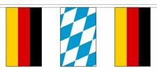 More details for germany friendship flag polyester bunting - premium quality