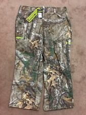 NWT UNDER ARMOUR INFRARED MEN'S COLD GEAR PANTS HUNT CAMO 1248011  946 Sz 3XL