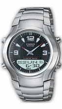 Casio EDIFICE Watch EFA-112D-1A Stainless Steel 100m Men's Watches EFA112 + Box