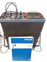 Philips PM3214 25 MHz Dual Channel Oscilloscope w/ Probes & Manual Works Great!