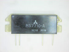 "M57710A-01  ""Original"" Mitsubishi  4P SIP RF Power Output IC  35W 1 pc"