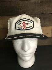 National Championship Air Races Reno Nevada Patch Hat Vintage Rare