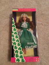 Mattel Barbie Doll Irish Dolls Of The World Collection Special Edition 1994