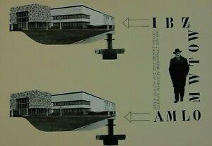 Bauhaus-Umkreis:Richard Paulick,IBZ Berlin,Collage,Typografie,Bauakademie Berlin