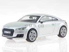 Audi TT 8S cupe 2015 florett plata coche en miniatura Kyosho 1:43
