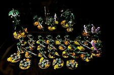 Warhammer 40k Swamp Necrons Army  Fully Painted Indomitus