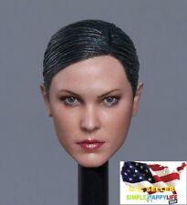 1/6 female head sculpt Soldier GC022 C for Phicen Hot toys Kumik❶US IN STOCK❶
