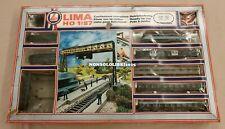 Treno Elettrico LIMA Set Kit Segnale a Due Vie con Passaggio Livello FS 444.001