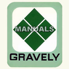 GRAVELY 40 Inch Mower PARTS IPC IPL & OPERATORS MANUAL Set REPAIR SERVICE on CD