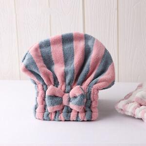 Hair Dry Cap Salon Towels  Super Absorbent Quick-drying Microfiber Bath Towels