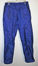 purple nylon water resistant shell snow pants by Red Ledge, size L