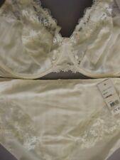 SIMONE PERELE AMOUR 18F / 40F Control Bra Sz 6 Culotte Natural Ivory Rrp $190